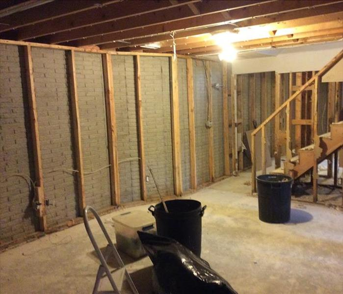 Mold Remediation In Process After