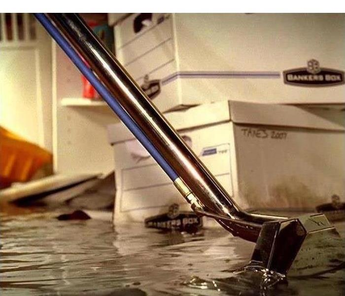 Basement Flooding with water damages to personal possessions
