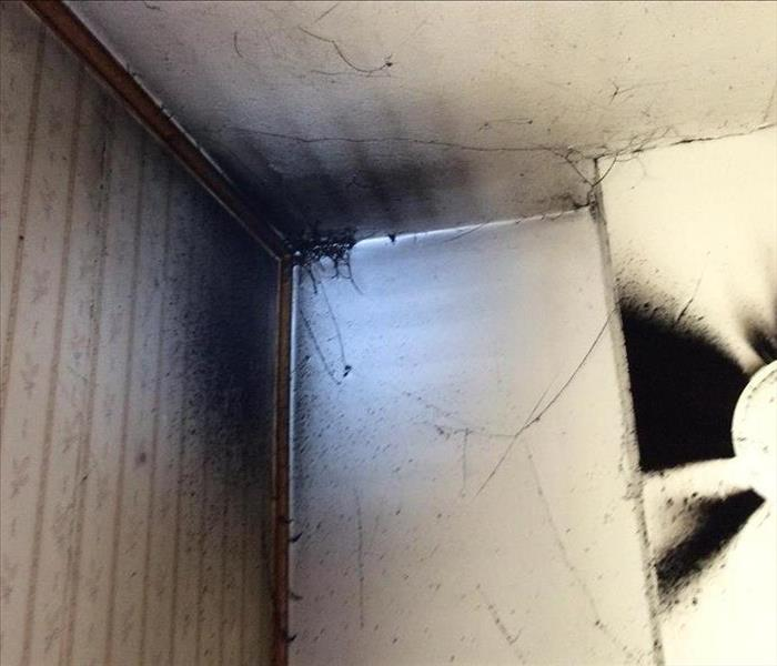 Fire Damage Cleaning Smoke and Soot Damage From Puff-Back in West Salem Home